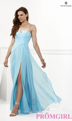 Long Prom Dress Style: FA-6428 Detail Image 2