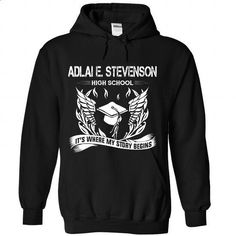 ADLAI E. STEVENSON - Its where my story begin! - #shirtless #funny tshirt. ORDER NOW => https://www.sunfrog.com/No-Category/ADLAI-E--It-Black-Hoodie.html?68278