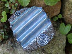 Seifenablage grosse Trockenwelle silberblau
