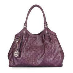 d202188e06985 Linda E Autentica Bolsa Gucci Embossed Leather - R  1.190,00 Bolsas Gucci,