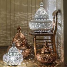 Moroccan Tyre Floor Lamps - Table Lamps - Lighting - Lighting & Mirrors