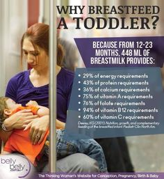 Benefits of #breastfeeding a toddler.