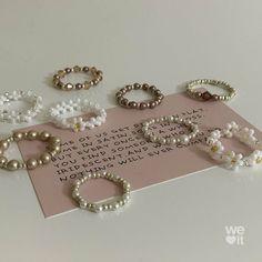 Handmade Wire Jewelry, Diy Crafts Jewelry, Cute Jewelry, Jewelry Accessories, Bead Jewellery, Beaded Jewelry, Beaded Rings, Beaded Bracelets, Pulseras Kandi