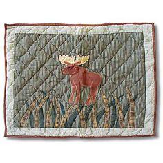 Moose Pillow Sham with Moose Design