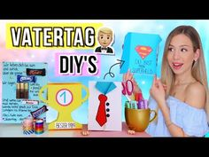 DIY VATERTAGS GESCHENKIDEEN 🎁 Vatertagsgeschenke selbst basteln 2019 - Cali Kessy - YouTube Cali, Washi Tape, Diys, Youtube, Make It Yourself, Cool Stuff, Free, Guy Gifts, Father's Day Diy