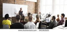 Business Team Training Listening Meeting Concept