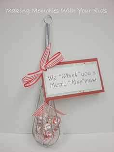 We *whisk* you a Merry Christmas - small neighbor gift.