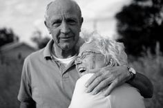 old couples in love make my heart smile.