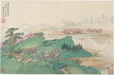 Wang Hui and Wang Shimin: Landscapes after Ancient Masters (1989.141.4) | Heilbrunn Timeline of Art History | The Metropolitan Museum of Art