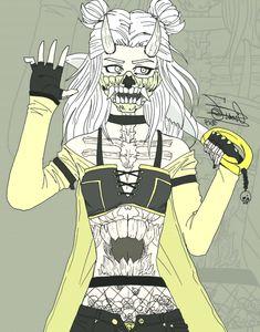 """Cheshire Vega """"SKULL"""" Edad: desconocida  Habilidad paranormal: muñecos de arcil… #mouthmask #arcil #Cheshire #demonmouthmask #desconocida #Edad #Habilidad #mask #muecos #paranormal #Skull #Vega"""