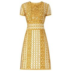 Burberry Handwoven Metallic Tape Shift Dress ❤ liked on Polyvore featuring dresses, vestidos, burberry, burberry dress, metallic dress, metallic shift dress and shift dress
