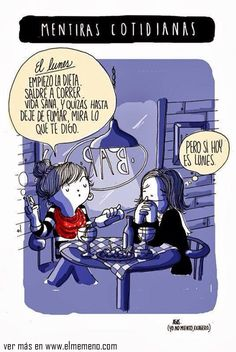 Las mentiras cotidianas más comunes @ www.elmemeno.com