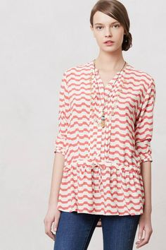Swizzle Stripe Tunic