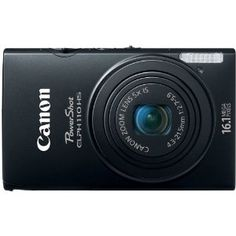 Canon PowerShot ELPH 110 HS 16.1 MP CMOS Digital Camera with 5x Optical Image Stabilized Zoom 24mm Wide-Angle Lens and 1080p Full HD Video Recording (Black): Camera