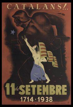 Cartell d'Antoni Clavé, 1938 (Biblioteca de Catalunya) Barcelona, Ephemera, Movie Posters, Movies, Art, Art Background, Films, Film Poster, Kunst