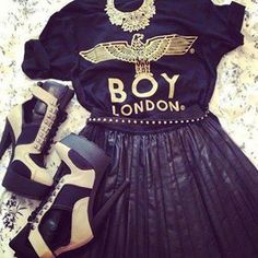 Boy London Style. I love this. =))