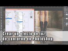Crear un efecto de luz de contorno en Photoshop
