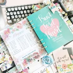 War binder in the Carpe Diem planner using the Faith collection from creative team member Violet Ballew