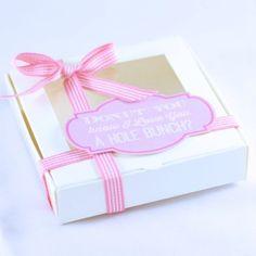 Mini Donut You Know Love White Box #valentines #gift #valentinesgift