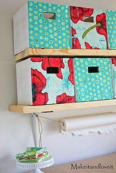 caixas de papelao reciclagem decoracao