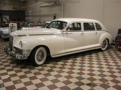 1947 Packard Limousine Maintenance/restoration of old/vintage vehicles: the material for new cogs/casters/gears/pads could be cast polyamide which I (Cast polyamide) can produce. My contact: tatjana.alic@windowslive.com