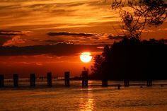 "Sunset by the River, by Ana ""Annie""Danesh, at Steveston Richmond BC #steveston #stevestonrealestate #seanlawson"