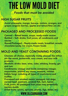 Foods To Eat With Yeast Allergy