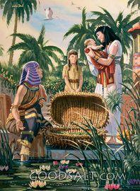 Hija de Moisés y de Pharo