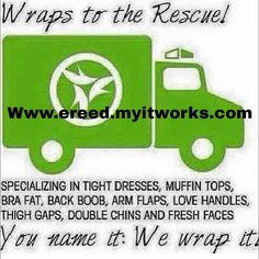 Wanna try a wrap? Check out my website, and/or message me to find out more info!!!