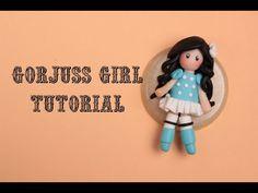 Gorjuss Girl Tutorial FIMO | Sissy's Creations - YouTube