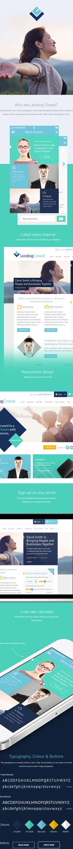 Lending Crowd UI & Concepts