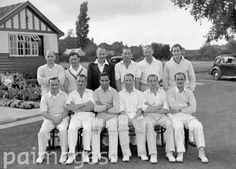 The Press Association's cricket team in 1948
