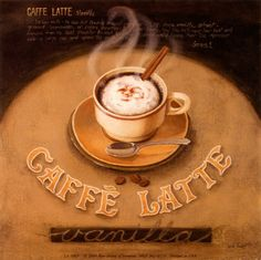 Cafe Latte Posters by Lisa Audit at AllPosters.com