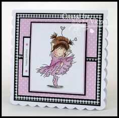 Vixx Handmade Cards: . Lili of the valley stamp                                                                                                                                                                                 More