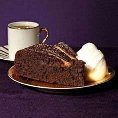 Chocolate Pear Torte recipe by Sarah Copeland for Fitness Magazine
