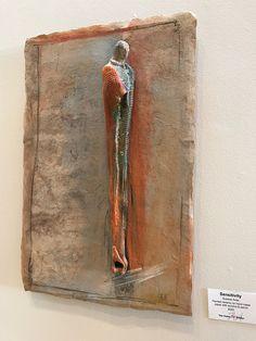 Susana Arias' compelling ceramic sculpture at the Presenter Exhibit Exhibit, Door Handles, Mixed Media, Presents, Magic, Ceramics, Sculpture, Creative, Artist