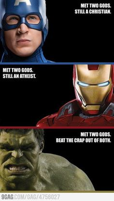 """Remember, Thor & Loki are just little """"g""""s. There is only one God (& He doesn't dress like that!)"""