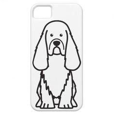 Sussex Spaniel Dog Cartoon iPhone 5 Covers