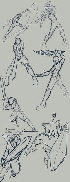 Manga Drawing Tips Anime Drawing Poses Best 25 Action . Drawing Techniques, Drawing Tips, Drawing Sketches, Art Drawings, Sword Drawings, Drawing Tutorials, Drawing Swords, Face Sketch, Drawing Ideas