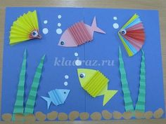 Поделки из бумаги своими руками для дошкольников