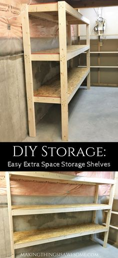 Diy Storage Easy Extra Space Storage Shelves Diy Storage Easy Extra Space Storage Shelves Quick And &; Diy Storage Easy Extra Space Storage Shelves Diy Storage Easy Extra Space Storage Shelves Quick And &;