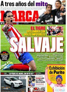 La portada del 21 de mayo de 2012
