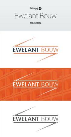 Projekt loga dla holenderskiej firmy budowlanej Ewelant Bouw