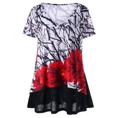 SHARE & Get it FREE | Plus Size Layered Floral T-ShirtFor Fashion Lovers only:80,000+ Items·FREE SHIPPING Join Dresslily: Get YOUR $50 NOW!