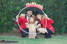 Lion Tamer Family - 2013 Halloween Costume Contest