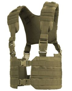 CONDOR RONIN CHEST RIGS          The Condor Ronin Chest Rig is designed with a Quick-Release Buckle Front opening and H-harness backing for easy access. The MCR
