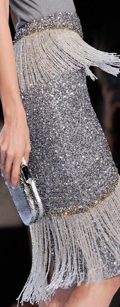 Badgley Mischka Spring 2014. Silver. Sparkles.                                                                                                                                                      More