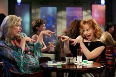 Melissa Peterman and Reba. Cast members from REBA Show enjoy enteracting even out at an Event.