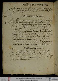 Universitätsbibliothek Heidelberg, Cod. Pal. germ. 555 Kochbuch (Schwaben, 1565)