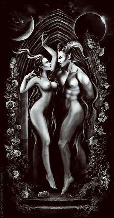 Lilith and Samael...